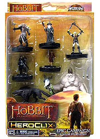 The Hobbit An Unexpected Journey Heroclix: Campaign Starter Set Box Front