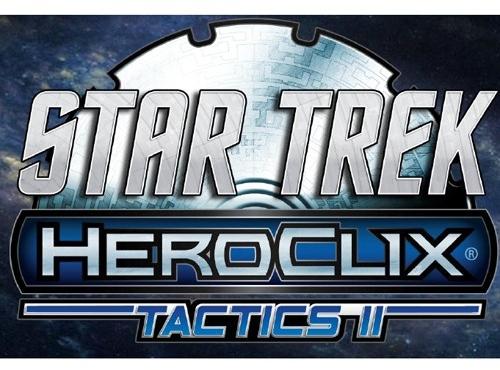 Star Trek Heroclix: Tactics Series Ii Countertop Display (12) Box Front