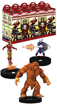 Marvel Heroclix: The Invincible Iron Man Booster Brick (10) Box Front
