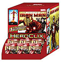 Marvel Heroclix: The Invincible Iron Man Gravity Feed Display (24) Box Front