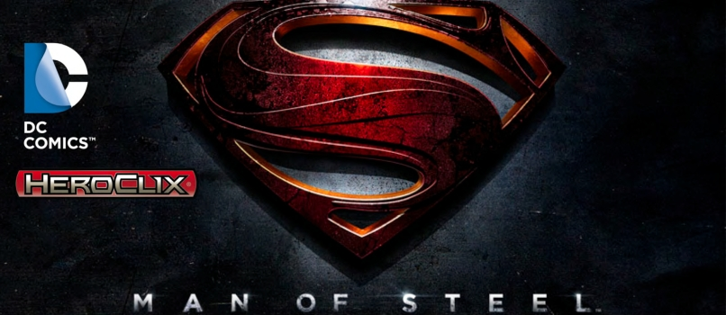 Dc Heroclix: Man Of Steel Starter Set Box Front