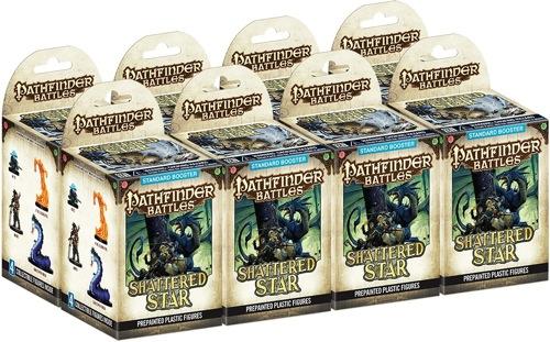 Pathfinder Battles: Shattered Star Standard Booster Brick (8) Box Front