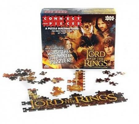 The Lord Of The Rings: Connect With Pieces Puzzle Building Game Box Front