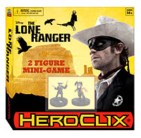 The Lone Ranger Heroclix: Mini Game Box Front