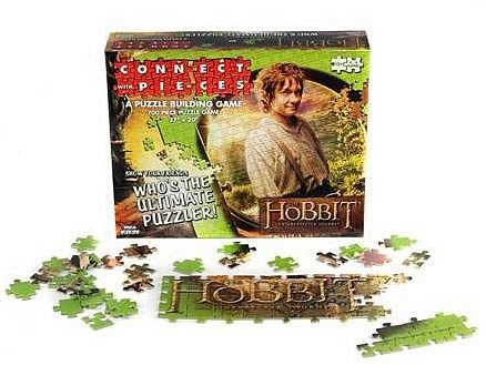 The Hobbit: An Unexpected Journey - Connect With Pieces Puzzle Building Game Box Front