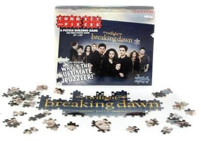 The Twilight Saga: Breaking Dawn Part 2 - Connect With Pieces Puzzle Building Game Box Front