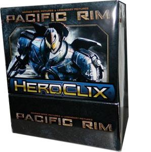 Pacific Rim Heroclix: Gravity Feed Display (24) Box Front