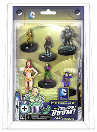 Dc Heroclix: Superman And The Legion Of Super-heroes The Legion Of Doom Fast Forces Pack Box Front