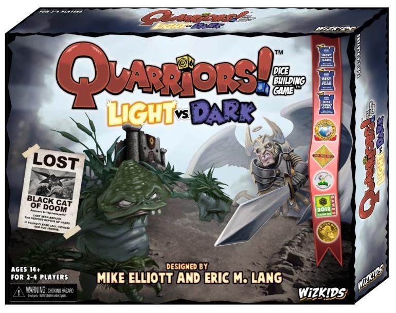 Quarriors!: Light Vs. Dark Expansion Box Front
