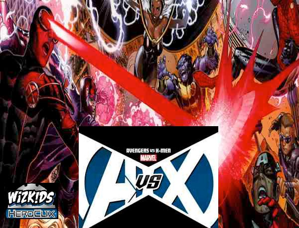 Marvel Heroclix: Avengers Vs X-men Storyline Organized Play Month Three Kit Box Front