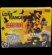 The Lone Ranger: Connect With Pieces Puzzle Building Game Box Front