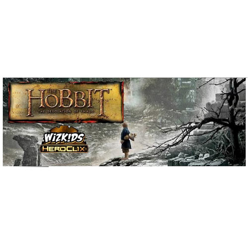 The Hobbit Heroclix: The Desolation Of Smaug Mini-game Box Front