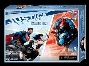Justice League Strategy Game Box Front
