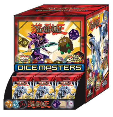 Yu-gi-oh Dice Masters: Series One Gravity Feed Display (90) Box Front