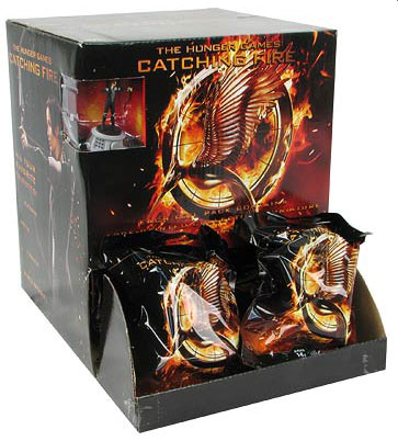 The Hunger Games: Catching Fire Movie Mini Figures 24 Count Gravity Feed Display Box Front