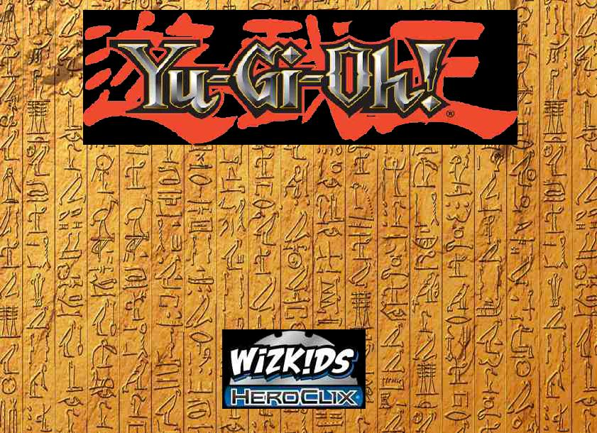Yu-gi-oh! Heroclix: Series 1 Release Event Organized Play Kit Box Front