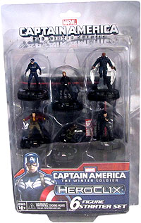 Marvel Heroclix: Captain America The Winter Soldier Starter Set Add Wzk 71420c As Well Box Front