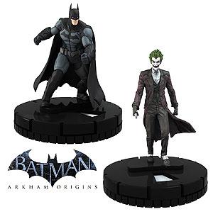 Dc Heroclix: Batman Arkham Origins Quick-start Kit Two Pack Box Front