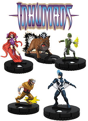 Marvel Heroclix: Guardians Of The Galaxy The Inhumans Fast Forces Pack Box Front