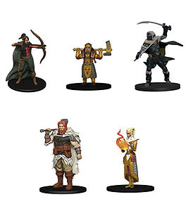 Dungeons & Dragons Fantasy Miniatures: Icons Of The Realms Miniatures Starter Set 1 Box Front