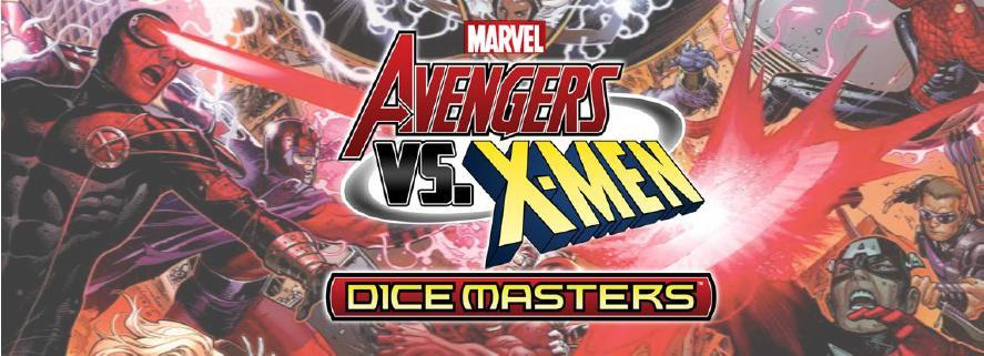 Marvel Dice Masters: Avengers Vs. X-men Month Two Storyline Organized Play Kit Box Front