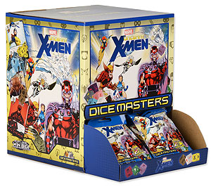 Marvel Dice Masters: The Uncanny X-men Dice Building Game Gravity Feed Display (90) Box Front