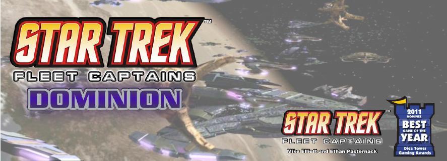 Star Trek Fleet Captains: Dominion Expansion Set Box Front