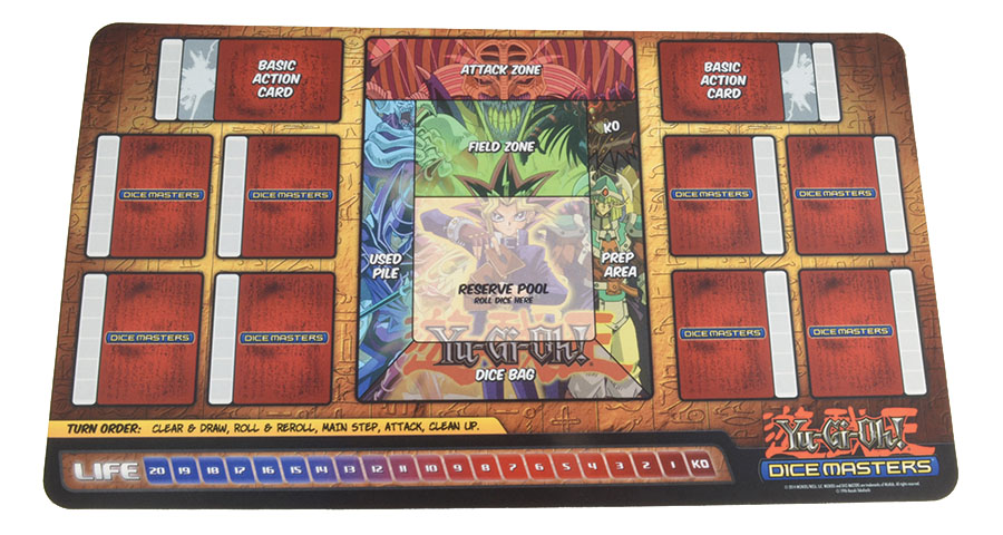 Yu-gi-oh Dice Masters: Series One Play Mat Box Front