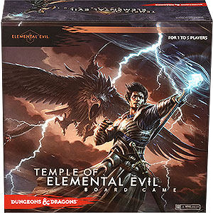 Dungeons & Dragons Temple Of Elemental Evil Board Game Box Front
