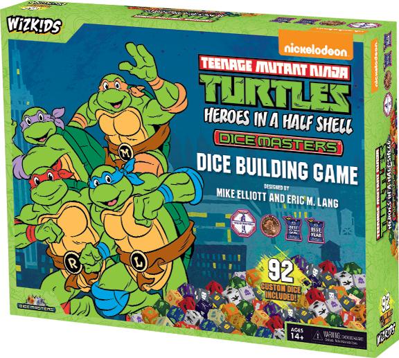 Teenage Mutant Ninja Turtles Dice Masters: Heroes In A Half Shell Box Set Box Front