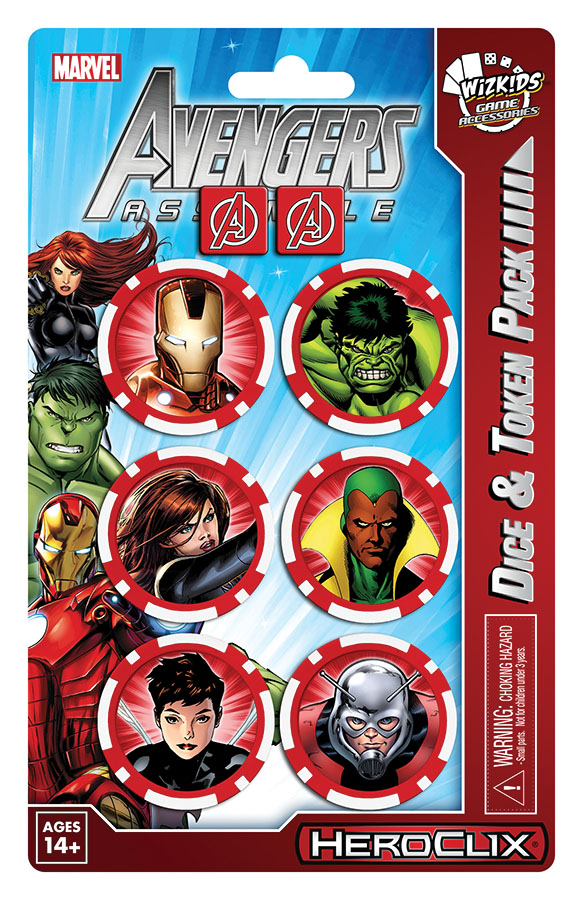 Marvel Heroclix: Avengers Assemble Dice And Token Pack Iron Man Box Front