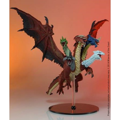 Dungeons & Dragons Fantasy Miniatures: Icons Of The Realms Tiamat Box Front