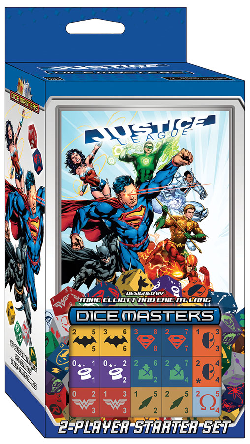 Dc Dice Masters: Justice League Starter Set Box Front
