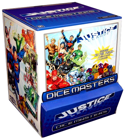 Dc Dice Masters: Justice League 90 Ct. Gravity Feed Display (90) Box Front
