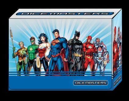 Dc Dice Masters: Justice League Team Box Box Front