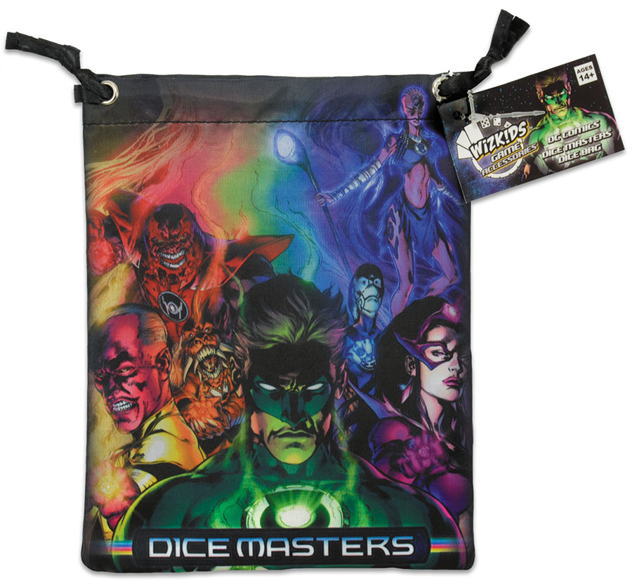 Dc Dice Masters: War Of Light Dice Bag Box Front