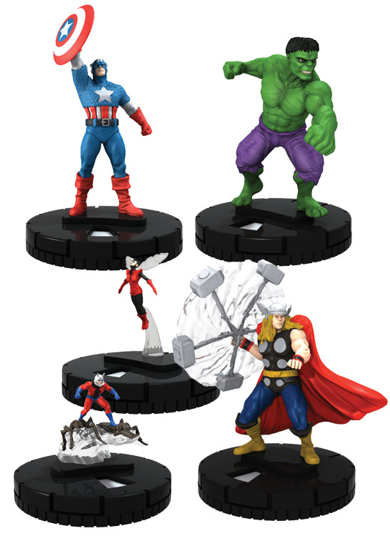 Marvel Heroclix: Classic Avengers Fast Forces Box Front