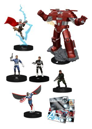 Marvel Heroclix: Nick Fury, Agent Of Shield Booster Brick (10) Box Front