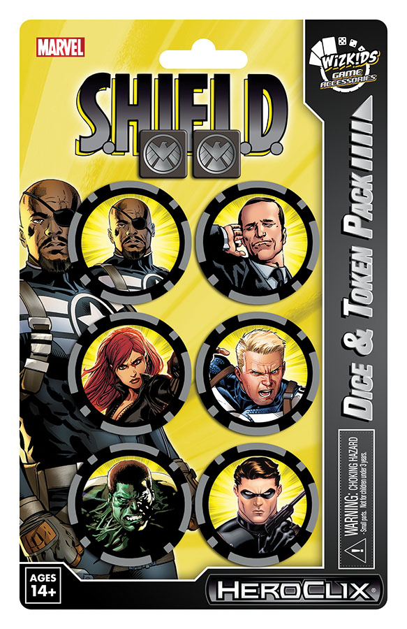 Marvel Heroclix: Nick Fury, Agent Of Shield Dice And Token Pack Box Front