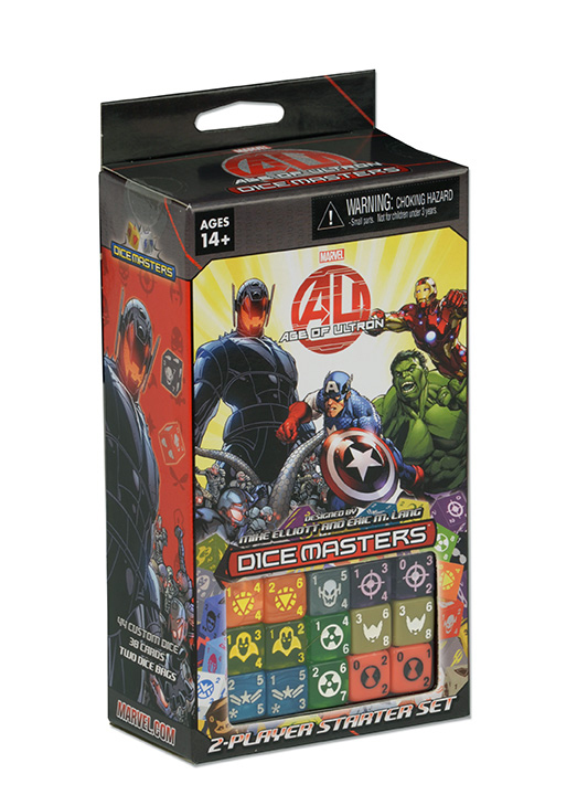 Marvel Dice Masters: Avengers Age Of Ultron Starter Set Box Front