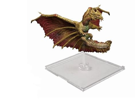 Dungeons & Dragons Attack Wing: Wave Eight Brass Dragon Expansion Pack Box Front