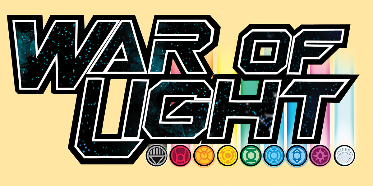 Dc Heroclix: War Of Light Construct Gravity Feed Display (24) Box Front