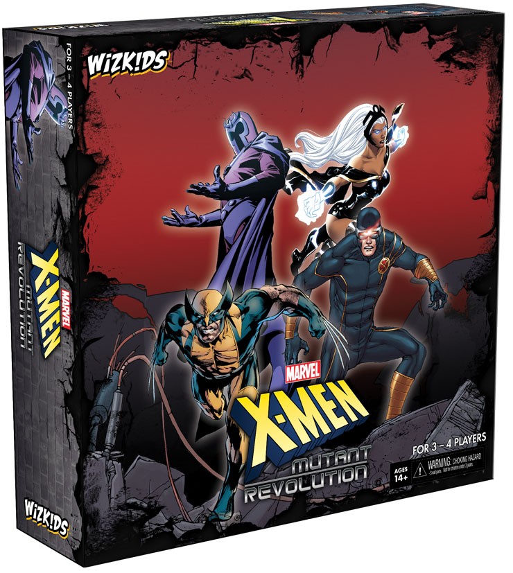 X-men: Mutant Revolution Board Game Box Front