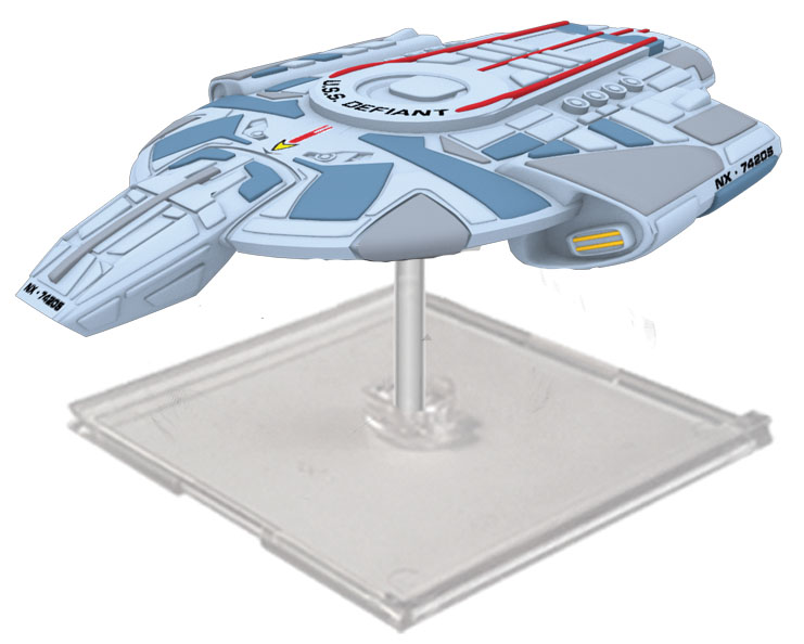 Star Trek Attack Wing: Wave 22 Federation U.s.s. Valiant Expansion Pack Box Front