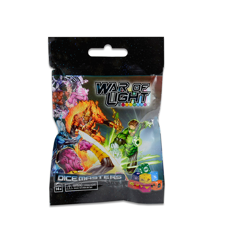Dc Dice Masters: War Of Light Gravity Feed Display (90) Box Front