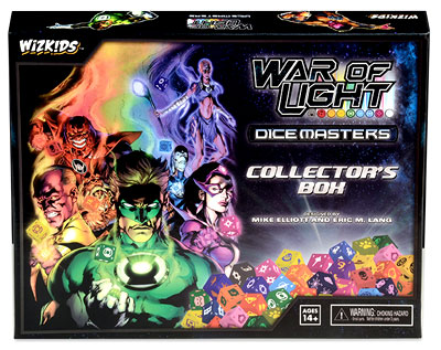 Dc Dice Masters: War Of Light Collectors Box Box Front