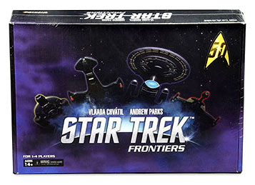 Star Trek: Frontiers Board Game Box Front