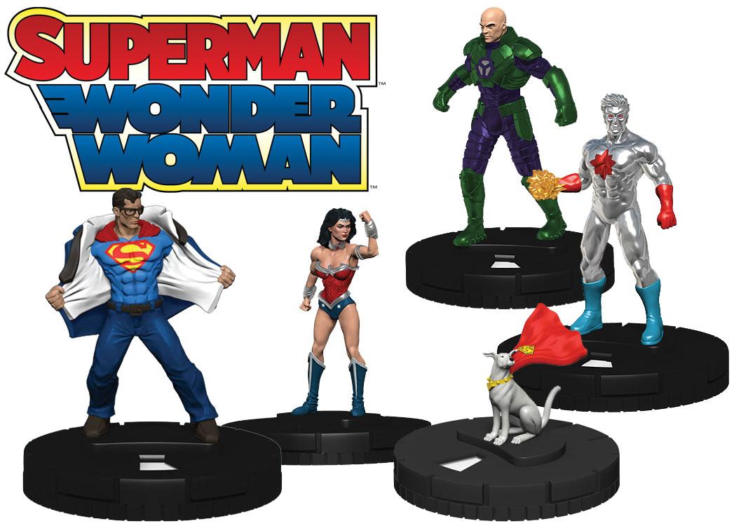 Dc Heroclix: Superman Dice & Token Pack Box Front