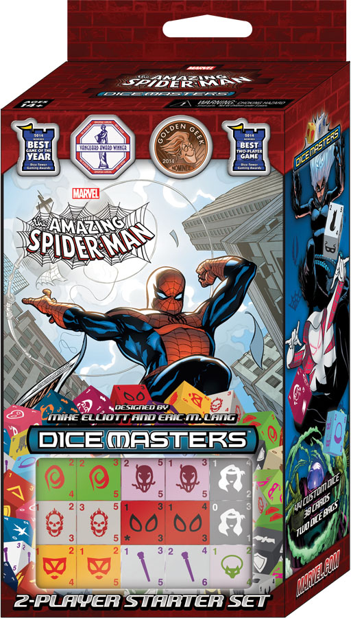 Marvel Dice Masters: The Amazing Spider-man Starter Box Front