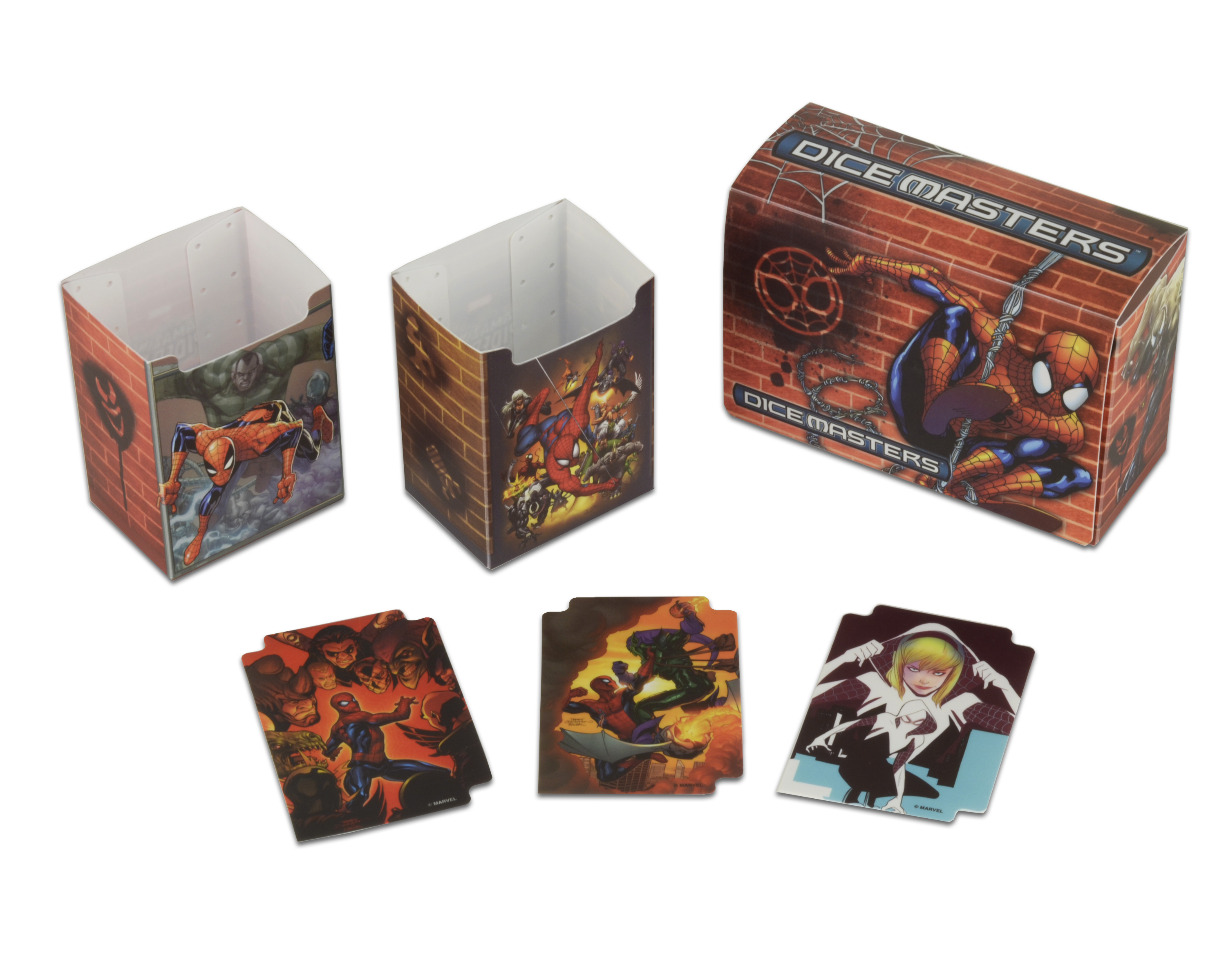 Marvel Dice Masters: The Amazing Spider-man Team Box Box Front